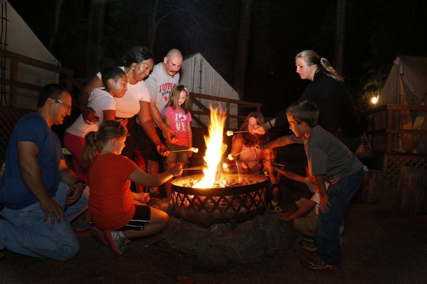 Family Campout Overnight